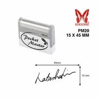 Khắc dấu chữ ký Pocket bỏ túi